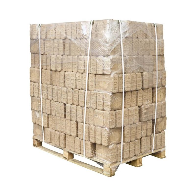 Hårdttræsbriketter 960 Kg